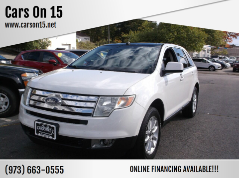 2009 Ford Edge for sale at Cars On 15 in Lake Hopatcong NJ