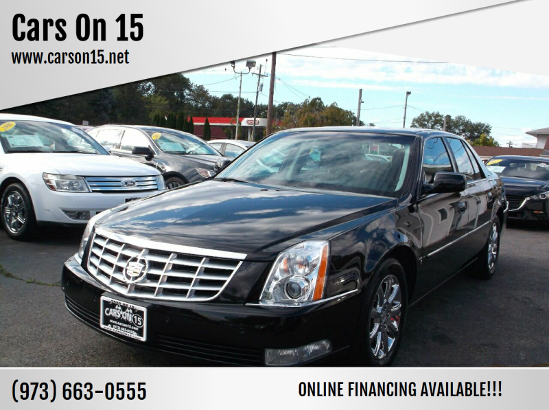 2009 Cadillac DTS for sale at Cars On 15 in Lake Hopatcong NJ
