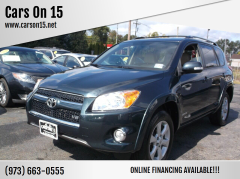 2012 Toyota RAV4 for sale at Cars On 15 in Lake Hopatcong NJ