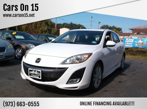 2011 Mazda MAZDA3 for sale at Cars On 15 in Lake Hopatcong NJ