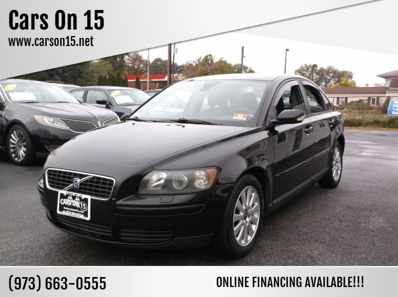 2004 Volvo S40 for sale at Cars On 15 in Lake Hopatcong NJ