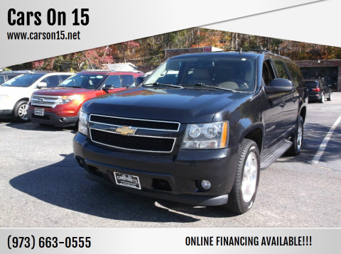 2012 Chevrolet Suburban for sale at Cars On 15 in Lake Hopatcong NJ