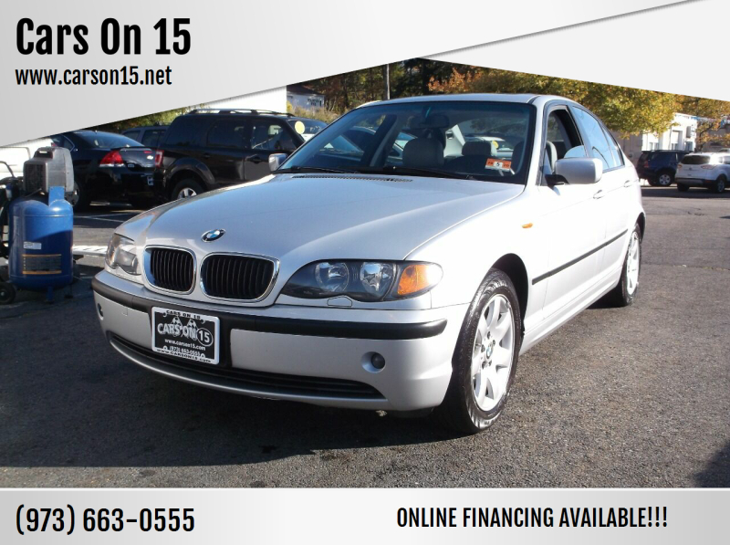 2002 BMW 3 Series for sale at Cars On 15 in Lake Hopatcong NJ