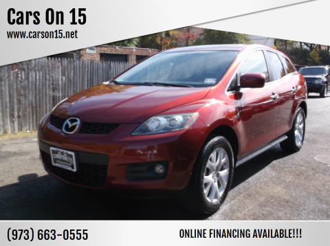 2008 Mazda CX-7 for sale at Cars On 15 in Lake Hopatcong NJ