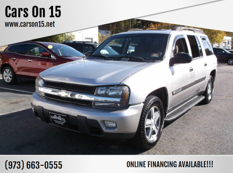 2004 Chevrolet TrailBlazer EXT for sale at Cars On 15 in Lake Hopatcong NJ