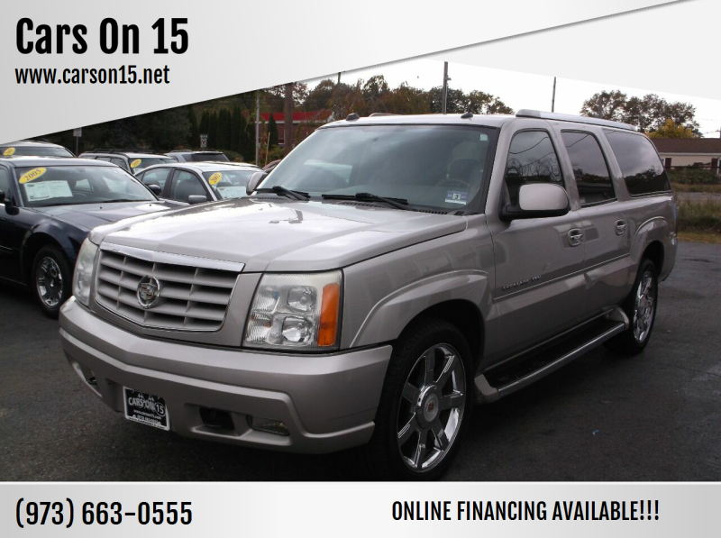 2005 Cadillac Escalade ESV for sale at Cars On 15 in Lake Hopatcong NJ