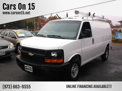 2009 Chevrolet Express Cargo for sale at Cars On 15 in Lake Hopatcong NJ