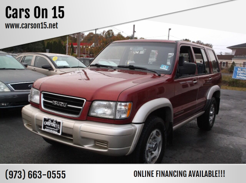 1998 Isuzu Trooper for sale at Cars On 15 in Lake Hopatcong NJ
