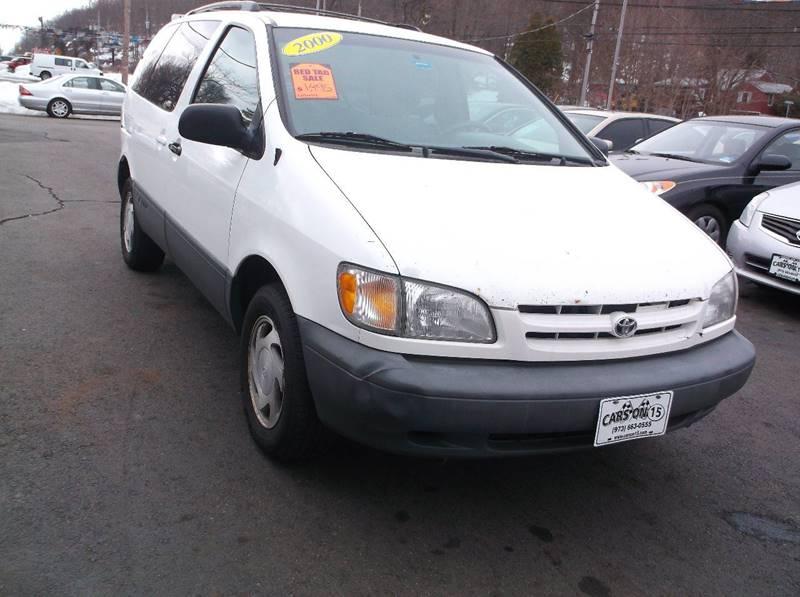 2000 Toyota Sienna 4dr LE Mini-Van - Lake Hopatcong NJ