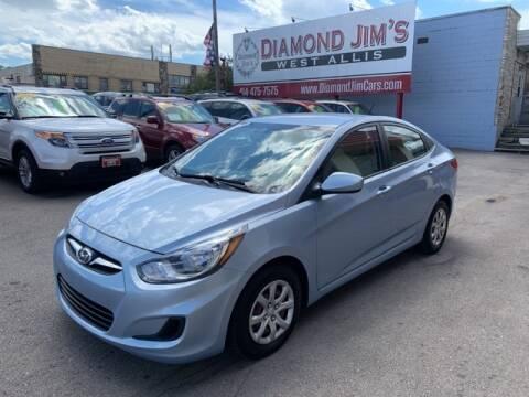 2014 Hyundai Accent for sale at Diamond Jim's West Allis in West Allis WI