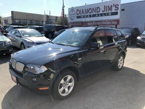2008 BMW X3 for sale at Diamond Jim's West Allis in West Allis WI