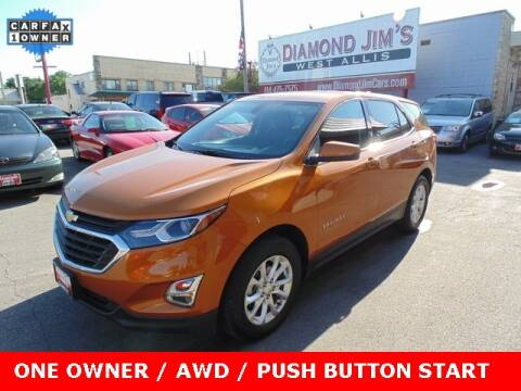 2019 Chevrolet Equinox for sale at Diamond Jim's West Allis in West Allis WI