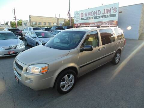 2007 Chevrolet Uplander for sale at Diamond Jim's West Allis in West Allis WI