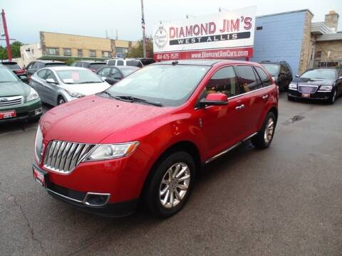 2012 Lincoln MKX for sale at Diamond Jim's West Allis in West Allis WI