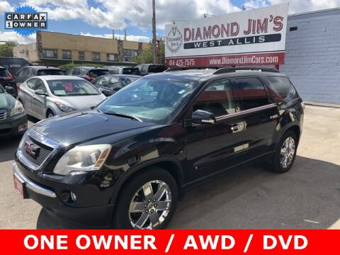 2010 GMC Acadia for sale at Diamond Jim's West Allis in West Allis WI