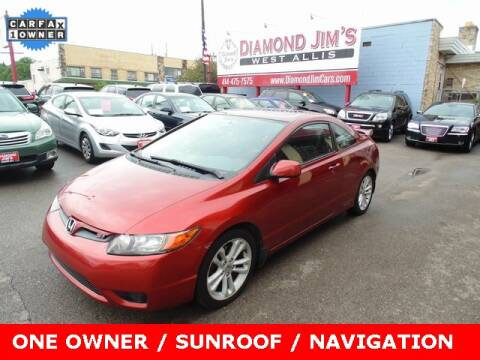 2006 Honda Civic for sale at Diamond Jim's West Allis in West Allis WI