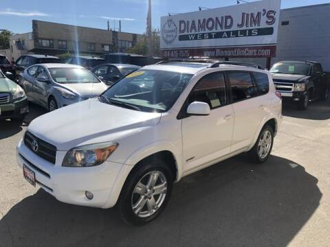2008 Toyota RAV4 for sale at Diamond Jim's West Allis in West Allis WI