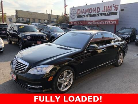 2012 Mercedes-Benz S-Class for sale at Diamond Jim's West Allis in West Allis WI