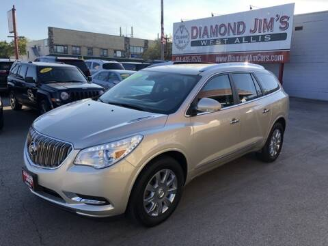 2016 Buick Enclave for sale at Diamond Jim's West Allis in West Allis WI
