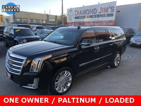 2016 Cadillac Escalade ESV for sale at Diamond Jim's West Allis in West Allis WI