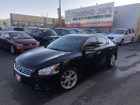 2014 Nissan Maxima for sale at Diamond Jim's West Allis in West Allis WI