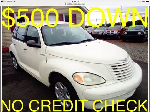 2005 Chrysler PT Cruiser for sale at Cooks Motors in Westampton NJ