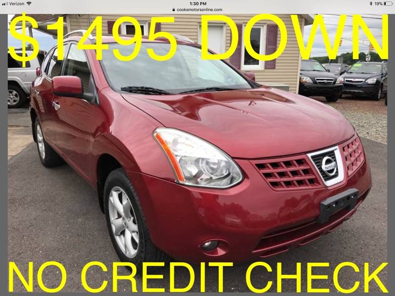 2010 Nissan Rogue for sale at Cooks Motors in Westampton NJ
