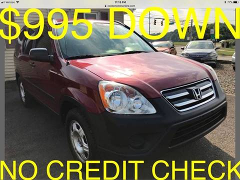 2005 Honda CR-V for sale at Cooks Motors in Westampton NJ
