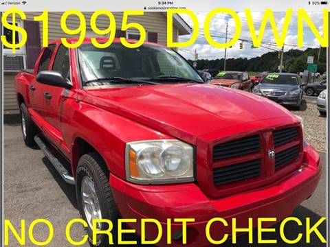 2006 Dodge Dakota for sale at Cooks Motors in Westampton NJ