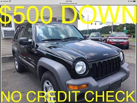 2003 Jeep Liberty for sale at Cooks Motors in Westampton NJ