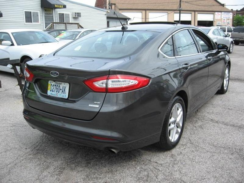 2015 Ford Fusion for sale at Vogue Motor Company Inc in Saint Louis MO