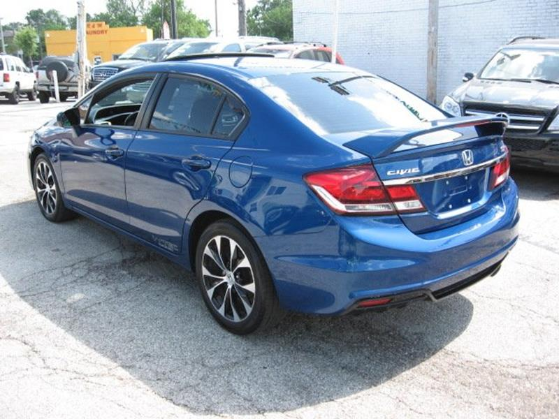 2015 Honda Civic for sale at Vogue Motor Company Inc in Saint Louis MO