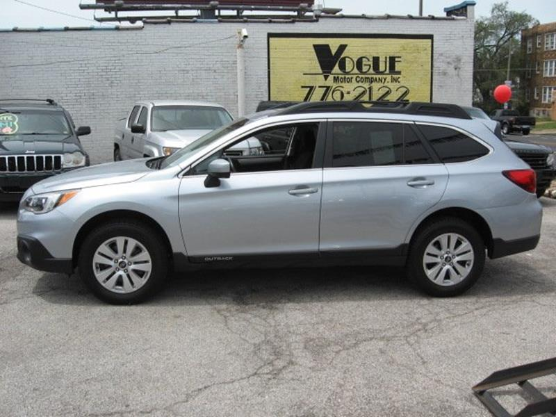 2015 Subaru Outback for sale at Vogue Motor Company Inc in Saint Louis MO