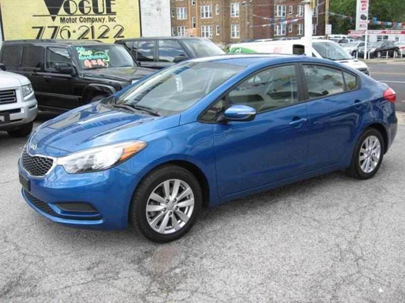 2014 Kia Forte for sale at Vogue Motor Company Inc in Saint Louis MO
