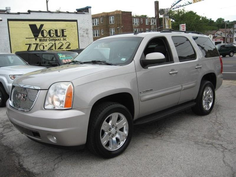 2007 GMC Yukon for sale at Vogue Motor Company Inc in Saint Louis MO