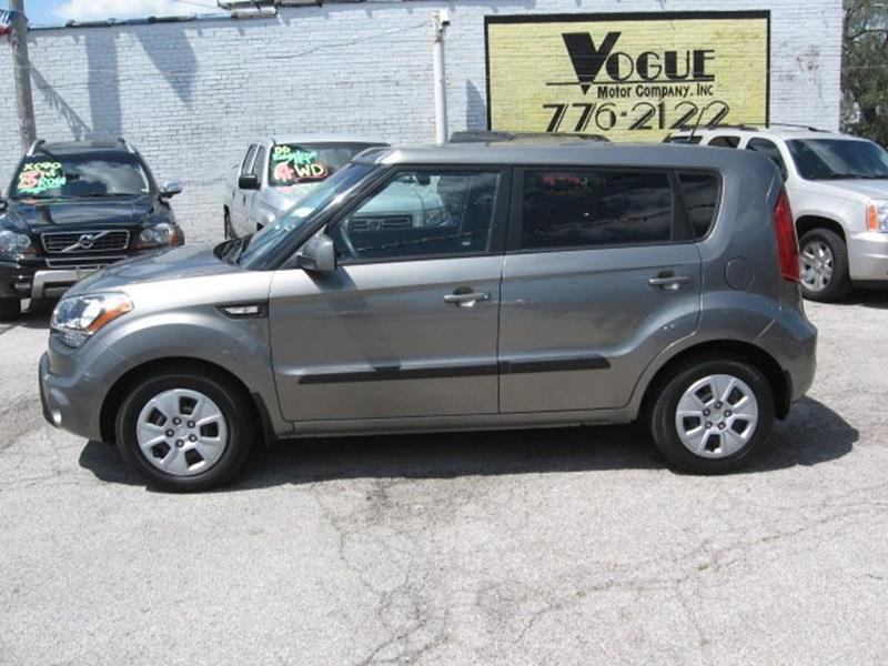 2013 Kia Soul for sale at Vogue Motor Company Inc in Saint Louis MO