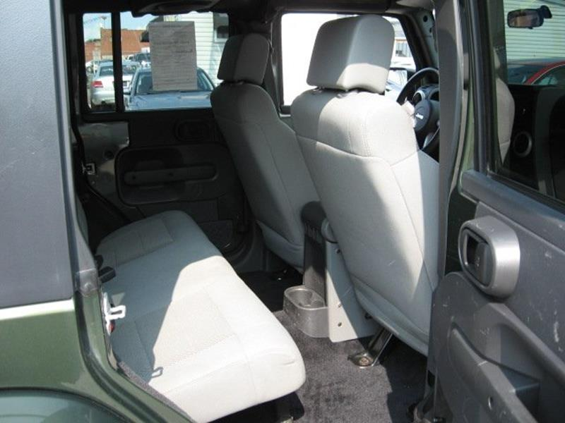 2008 Jeep Wrangler Unlimited for sale at Vogue Motor Company Inc in Saint Louis MO
