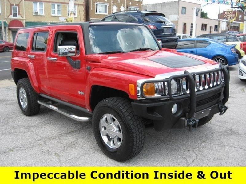 2007 HUMMER H3 for sale at Vogue Motor Company Inc in Saint Louis MO