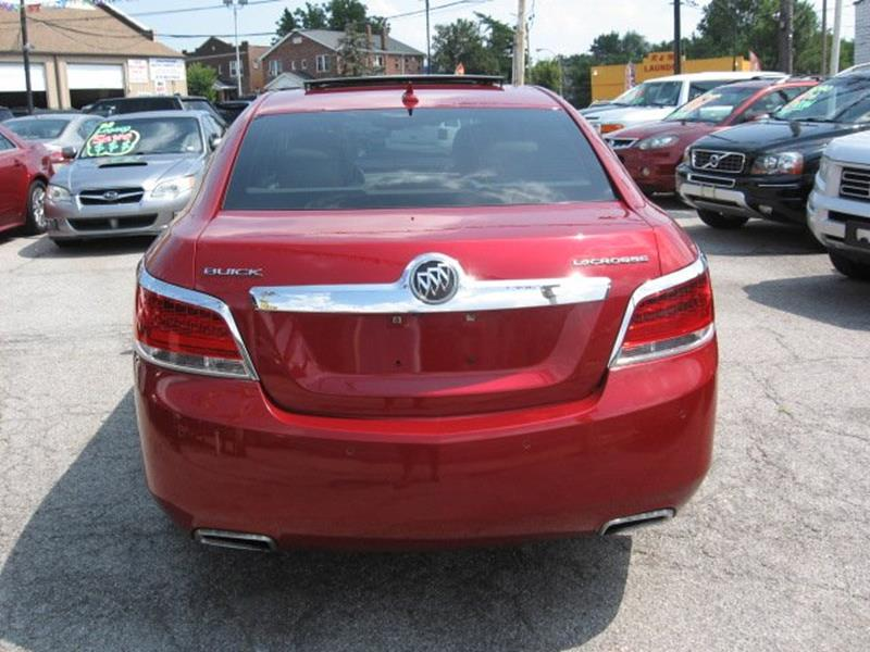 2012 Buick LaCrosse for sale at Vogue Motor Company Inc in Saint Louis MO