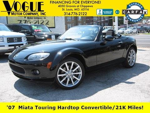 2007 Mazda MX-5 Miata for sale at Vogue Motor Company Inc in Saint Louis MO
