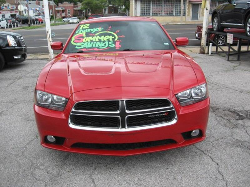 2012 Dodge Charger for sale at Vogue Motor Company Inc in Saint Louis MO