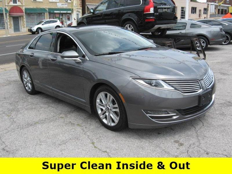 2014 Lincoln MKZ for sale at Vogue Motor Company Inc in Saint Louis MO