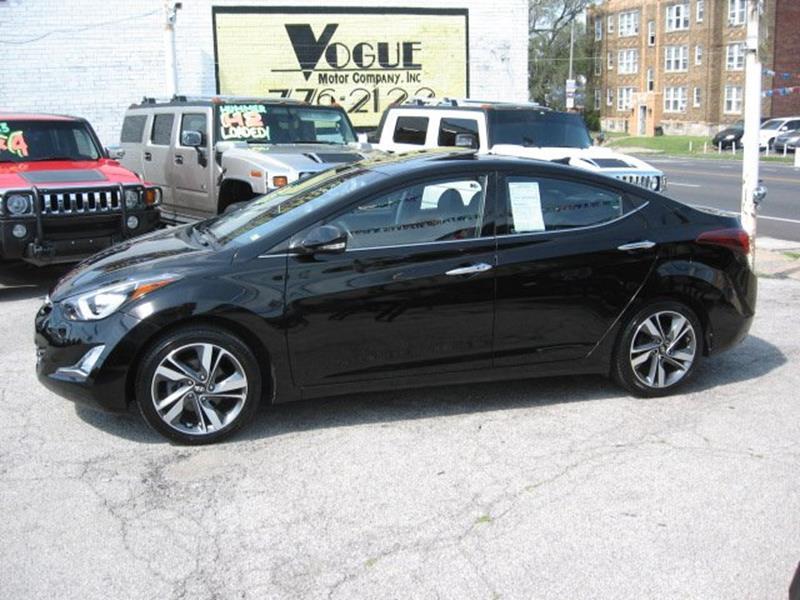 2014 Hyundai Elantra for sale at Vogue Motor Company Inc in Saint Louis MO