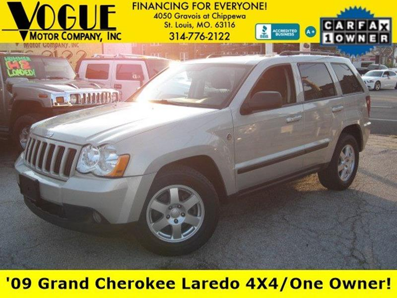 2009 Jeep Grand Cherokee for sale at Vogue Motor Company Inc in Saint Louis MO