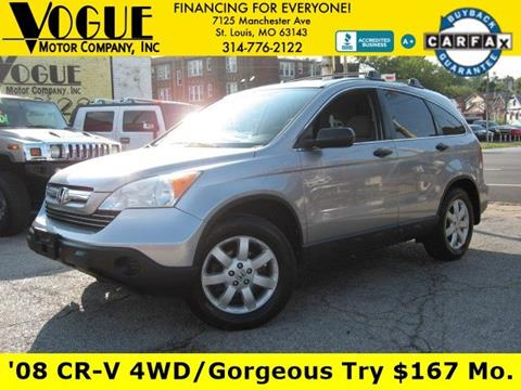 2008 Honda CR-V for sale at Vogue Motor Company Inc in Saint Louis MO