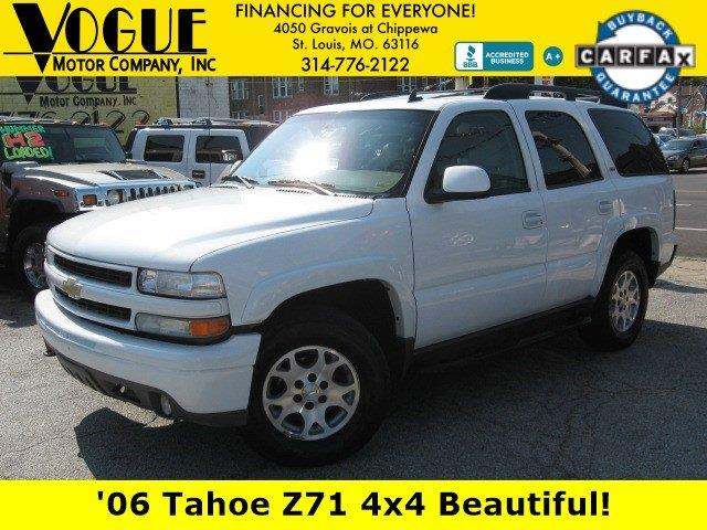 2006 Chevrolet Tahoe for sale at Vogue Motor Company Inc in Saint Louis MO