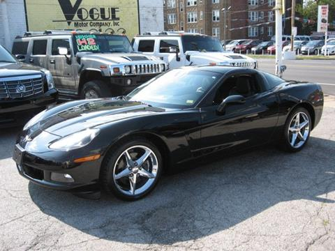 2013 Chevrolet Corvette for sale at Vogue Motor Company Inc in Saint Louis MO