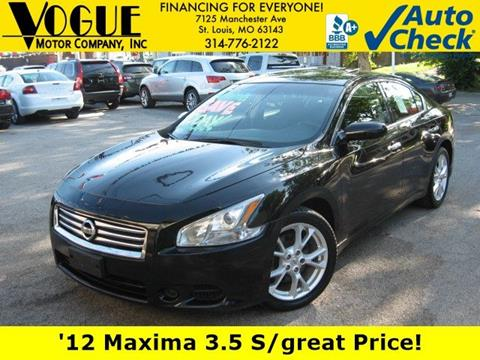 2012 Nissan Maxima For Sale In Saint Louis, MO