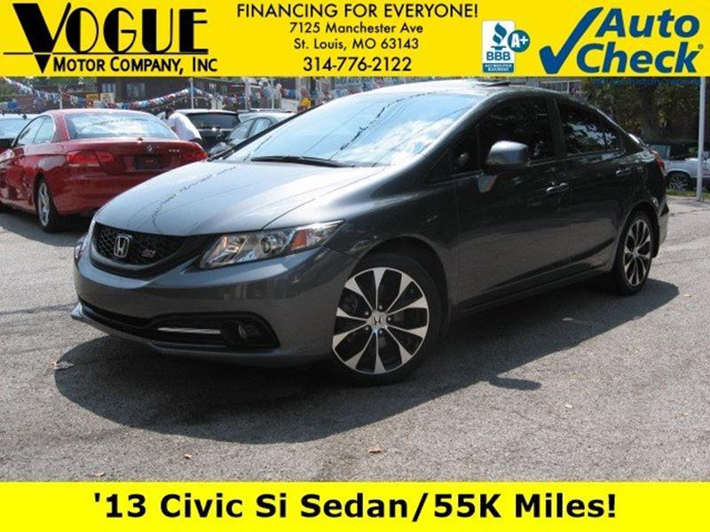 2013 Honda Civic For Sale At Vogue Motor Company Inc In Saint Louis MO