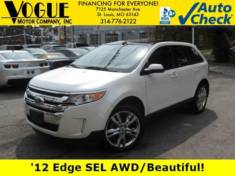 Ford Edge For Sale At Vogue Motor Company Inc In Saint Louis Mo